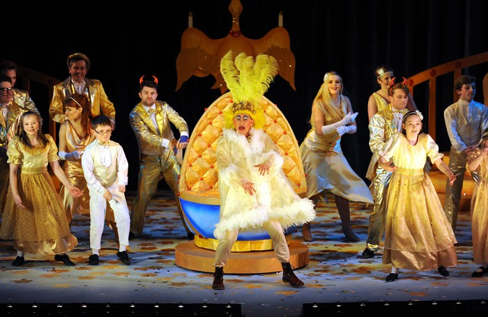 Mother Goose at the Adam Smith Theatre, Kirkcaldy