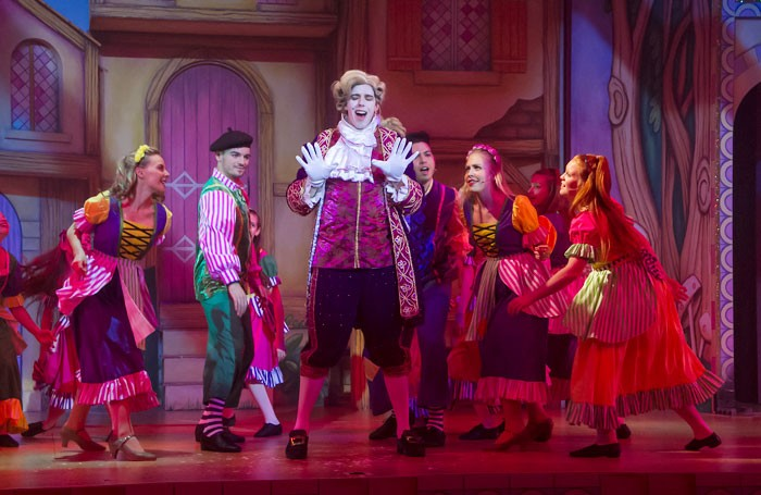 Beauty and the Beast at Central Theatre, Chatham. Photo: Martin Smith