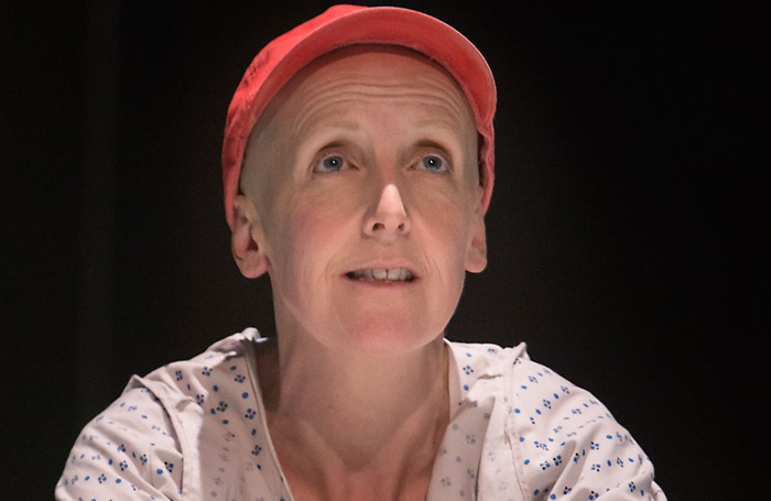 Julie Hesmondhalgh in Wit at the Royal Exchange Theatre, Manchester. Photo: Jonathan Keenan