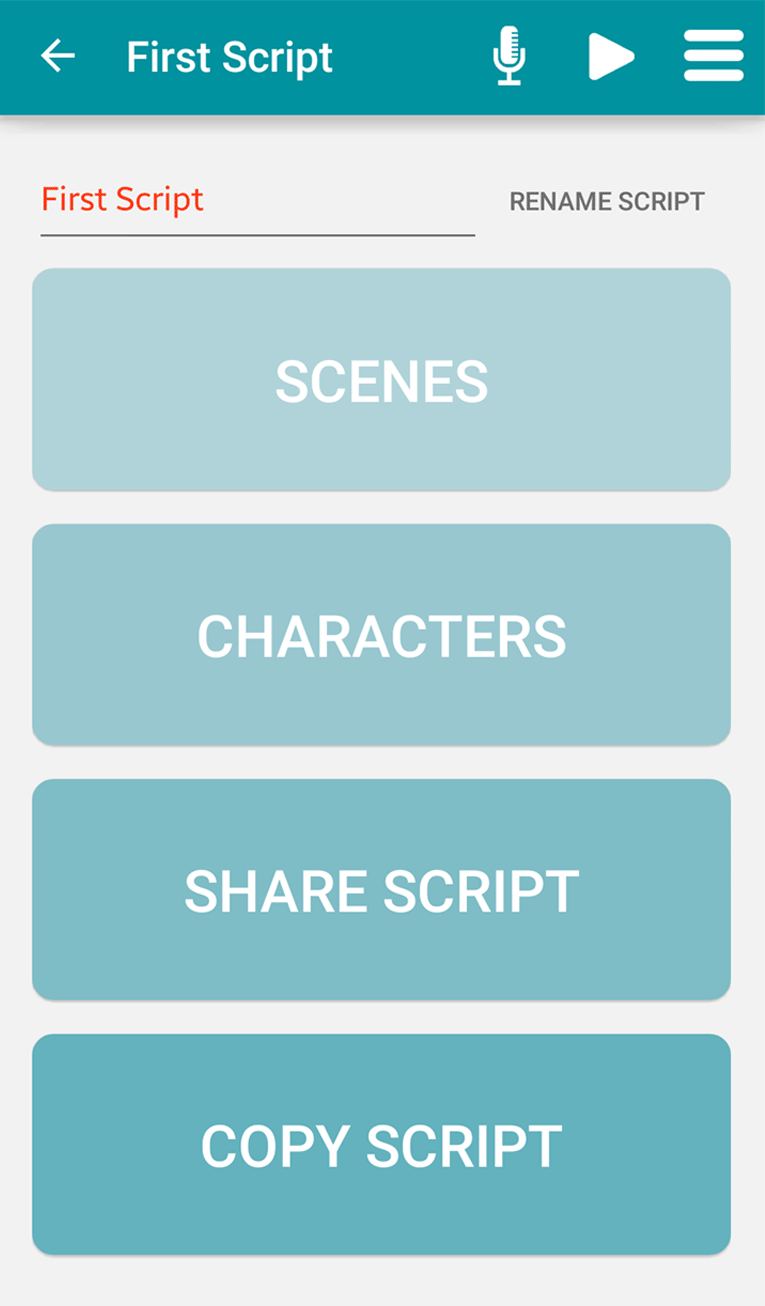 Lines2Memory Android scripts | The Stage