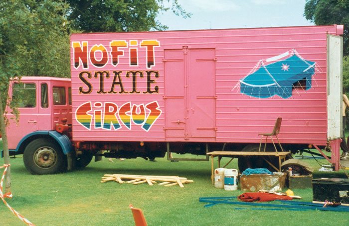 The company's original pink lorry