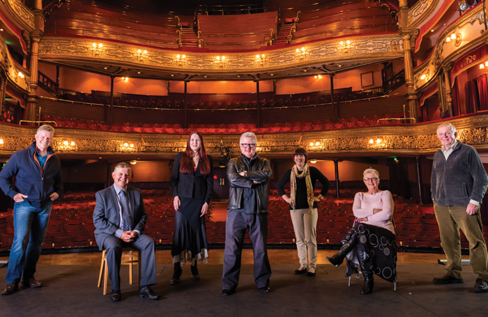 The Royal Shakespeare Company is performing A Midsummer Night's Dream with amateur theatre groups, including the Belvoir Players at Belfast's Grand Opera House, taking on the roles of Bottom and the Mechanicals