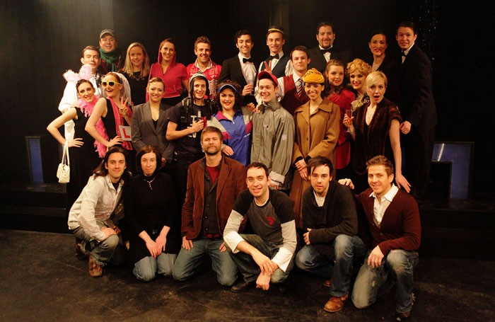 The company gathers for Once Upon a Time at the Adelphi. Photo: Scott Rylander