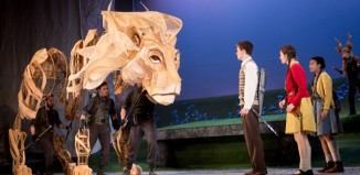 Birmingham Rep's production of The Lion, the Witch and the Wardrobe. Photo: Graeme Braidwood