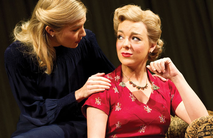 Sheridan Smith in Flare Path at Theatre Royal Haymarket with Sienna Miller. Photo: Tristram Kenton