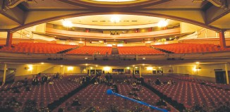 The interior of Scarborough's Futurist Theatre