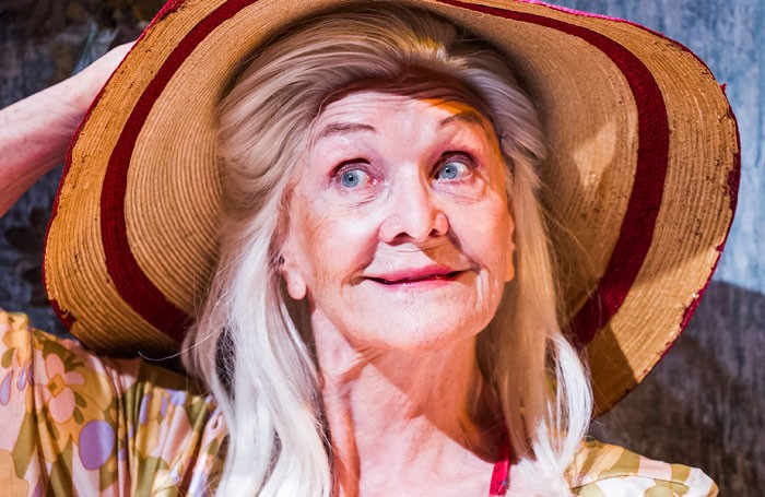 Sheila Hancock in Grey Gardens at Southwark Playhouse. Photo: Tristram Kenton