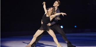 Lloyd Jones and Paula Soma in Holiday on Ice at the Brighton Centre. Photo: Stephanie Pistel