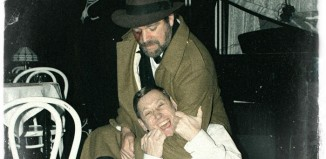 Oliver Hume and Stuart Horobin in Jekyll and Hyde at London's Cockpit Theatre