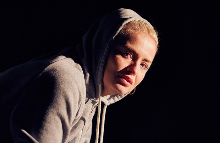 Sophie Melville in Iphigenia in Splott. Photo: Mark Douet