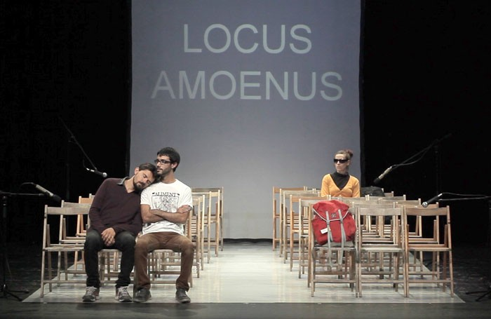 Locus Amoenus at the Lowry, Salford Photo: Aaron Sanchez