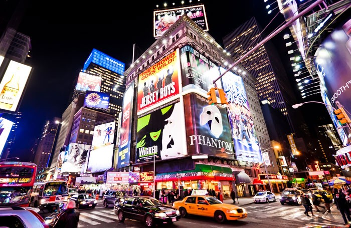 Theatre on Broadway will benefit from new tax law changes. Photo: Andrey Bayda/Shutterstock
