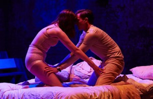 Lydia Larson and Jassa Ahluwalia in Skin a Cat at Vault, London