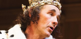 Mark Rylance in Richard III at the Apollo Theatre. Photo: Tristram Kenton