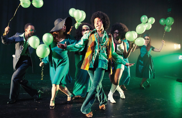 Scene from Wac Arts' recent musical theatre diploma show The Wiz. Photo: Gareth Worsnup
