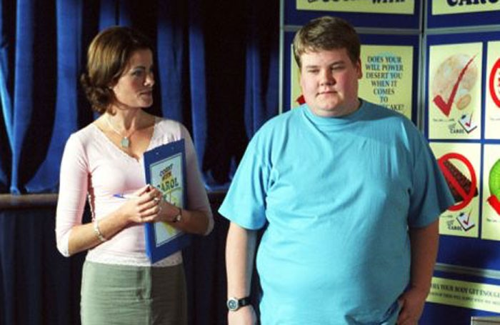 James Corden in ITV's Fat Friends
