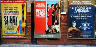 Theatre posters in the West End. Photo: Thinglass/Shutterstock.com