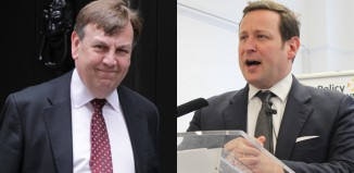 Culture secretary John Whittingdale and minister for culture Ed Vaizey. Photos: Twocoms, Shutterstock/Policy Exchange