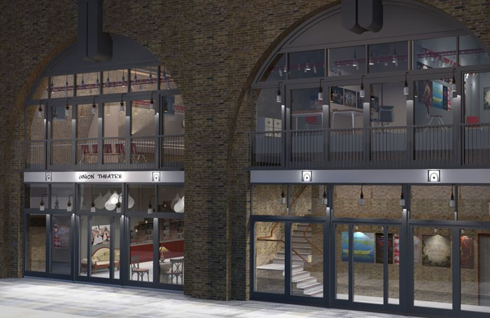 Artist's impression of how the Union Theatre's new premises, opening in June will look