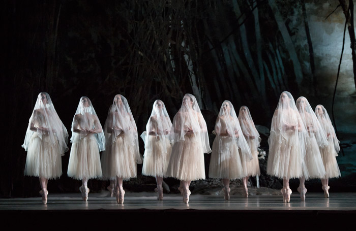 The Royal Ballet's production of Giselle at the Royal Opera House, London. Photo: Bill Cooper
