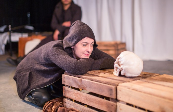 Izabella Urbanowicz in Hamlet Peckham at the CLF Theatre, London Photo: Ruth Bloch