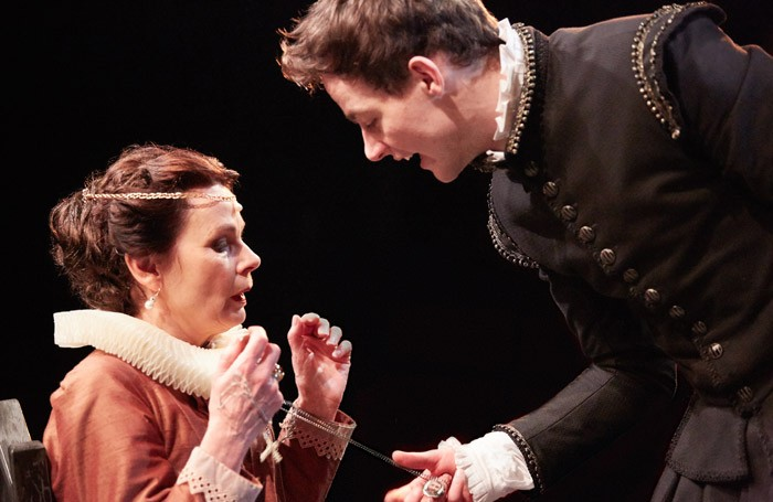 Scene from Hamlet-at Shakespeare at the Tobacco Factory, Bristol. Photo: Mark Douet