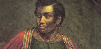 Portrait of Ira Aldridge as Othello by Henry Perronet Briggs
