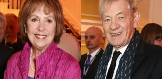 Penelope Wilton and Ian McKellen are among the judges for the Royal Theatrical Support Trust director award. Photo: Dave Benett