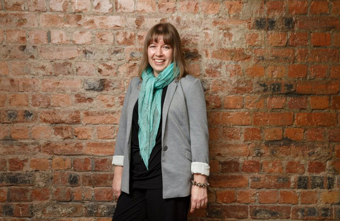 Scottish Youth Theatre's chief executive Jacky Hardacre. Photo: Robert Perry