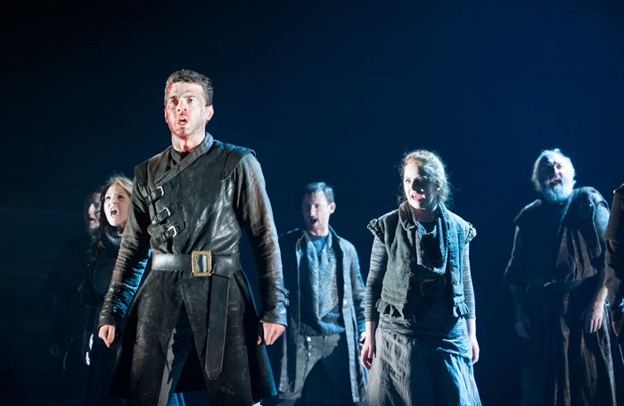 The cast of James I at Festival Theatre, Edinburgh