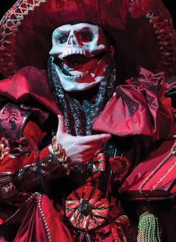 John Owen Jones as The Phantom of the Opera. Photo: Catherine Ashmore