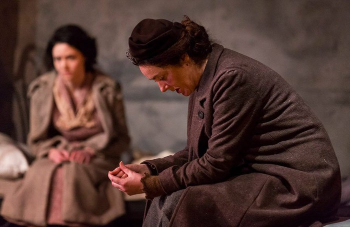 Scene from Juno and the Paycock at Gate Theatre, Dublin. Photo: Pat Redmond