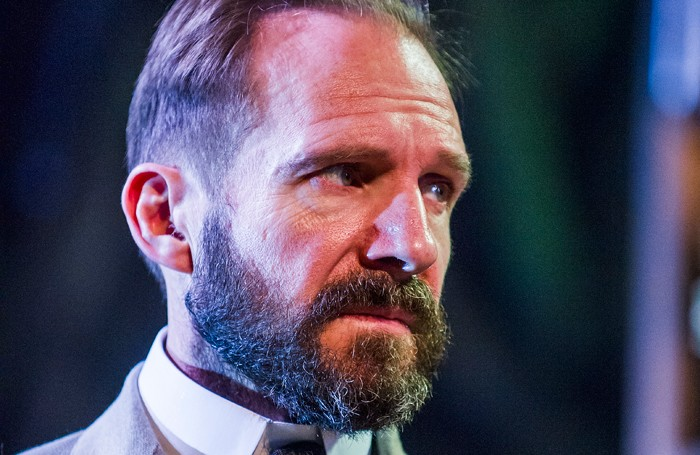 Ralph Fiennes in The Master Builder at the Old Vic. Photo: Tristram Kenton