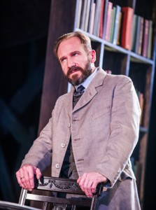 Ralph Fiennes in The Master Builder at the Old Vic. Photo: Tristam Kenton
