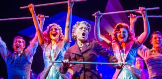 Tracie Bennett (centre), in Mrs Henderson Presents at the Noel Coward Theatre. Photo: Tristram Kenton