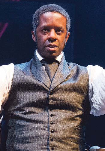 Adrian Lester in Red Velvet at London's Garrick Theatre. Photo: Tristram Kenton
