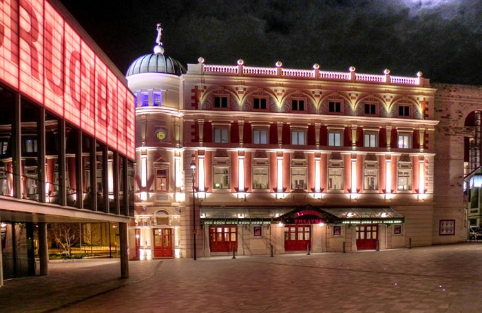 Sheffield's Lyceum and Crucible theatres will be involved in the scheme. Photo: David Dixon