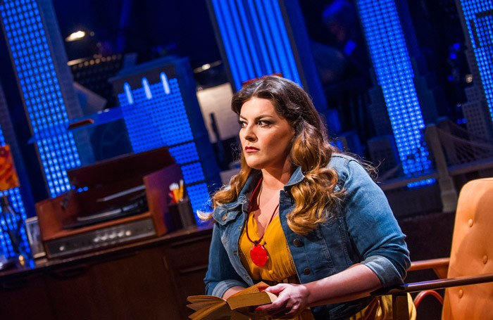 Jodie Prenger in Tell Me on a Sunday at the Watermill Theatre, Newbury Photo: Tristram Kenton