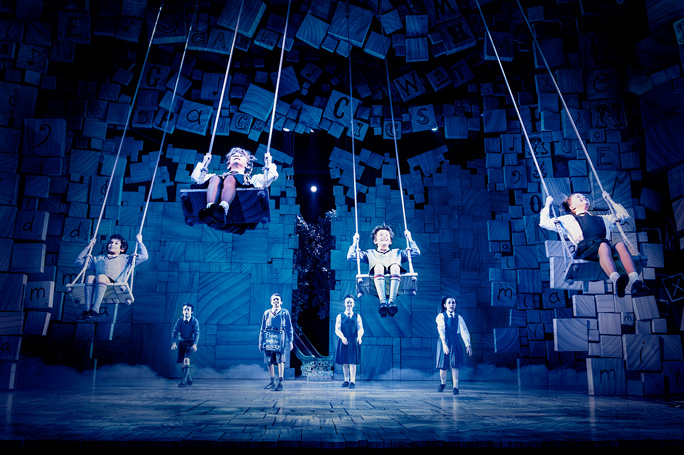 The Royal Shakespeare Company's Matilda the Musical. Photo: Manuel Harlan