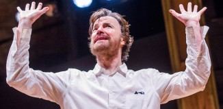 Paul Rhys in Uncle Vanya at Almeida Theatre, London Photo: Tristram Kenton