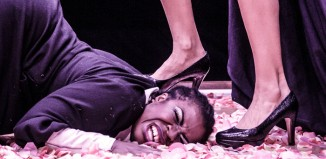Uzo Aduba in The Maids at Trafalgar Studios. Photo: Marc Brenner