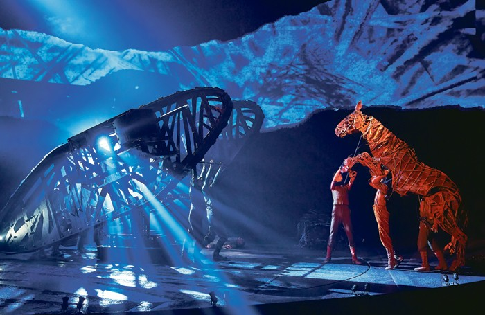 War Horse at the New London Theatre. Photo: Brinkhoff Mogenburg