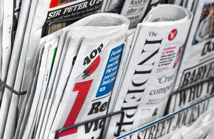The Independent is dropping its print edition. Photo: Lawrey/Shutterstock