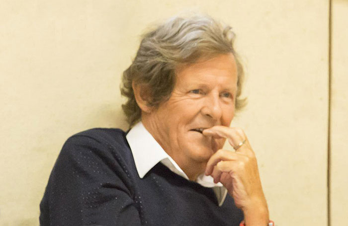 David Hare. Photo: Johan Persson