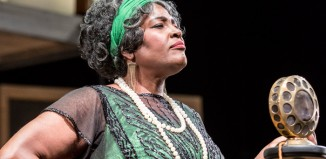 Sharon D Clarke in Ma Rainey's Black Bottom. Photo: Johan Persson
