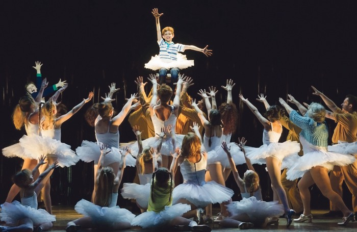 A scene from the UK tour of Billy Elliot. Photo: Alastair Muir