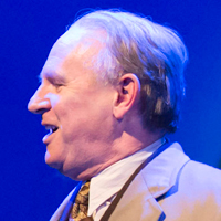 Peter Davison in Gypsy. Photo: Johan Persson