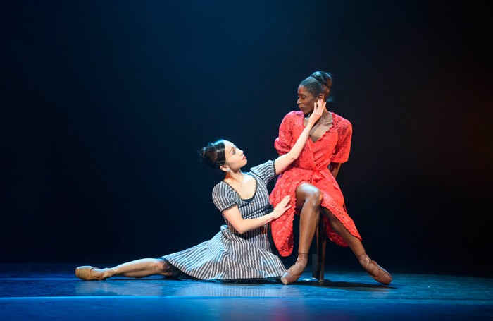 Sayaka Ichikawa and Cira Robinson in Ballet Black's Storyville at Barbican, London. Photo: Bill Cooper