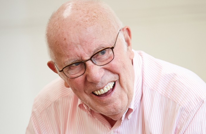 Richard Wilson in rehearsals for The Nap. Photo: Mark Douet