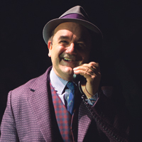 David Haig in Guys and Dolls. Photo: Paul Coltas